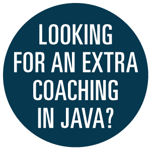 Coaching in JAVA