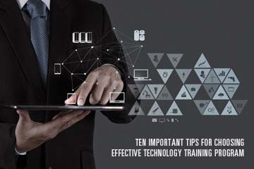 Effective Technology Training Program